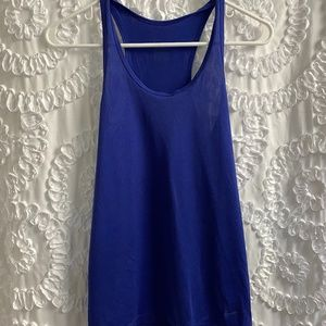 Blue Nike Athletic Tank Top